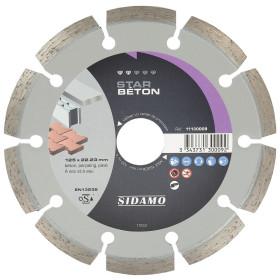 Disque Diamant à segment 125 mm STAR BETON Tronçonnage béton SIDAMO