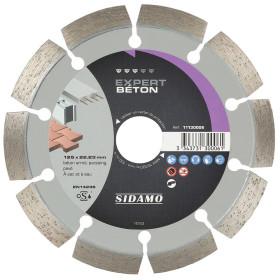 Disque Diamant à segment 125 mm EXPERT BETON Tronçonnage béton SIDAMO