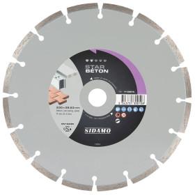Disque Diamant à segment 230 mm STAR BETON Tronçonnage béton SIDAMO