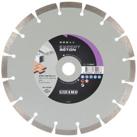 Disque Diamant à segment 230 mm EXPERT BETON Tronçonnage béton SIDAMO