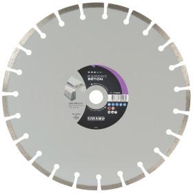 Disque Diamant à segment 300 mm EXPERT BETON Tronçonnage béton SIDAMO