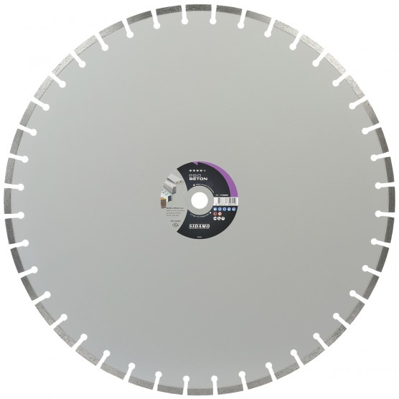 Grand Disque Diamant PRO BETON 600 mm  SIDAMO