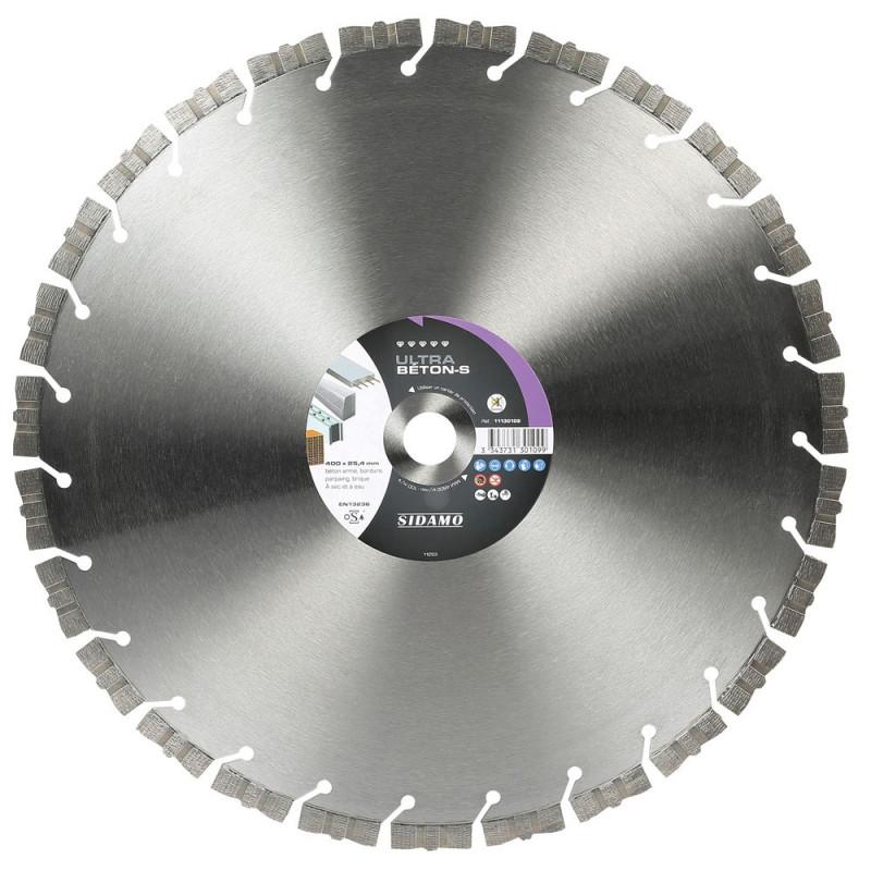 Grand Disque Diamant ULTRA BETON-S 400 mm  SIDAMO