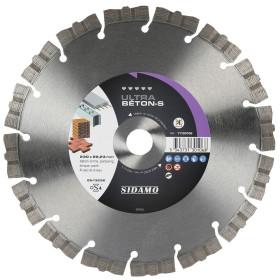 Disque Diamant à segment 230 mm ULTRA BETON Tronçonnage Béton SIDAMO