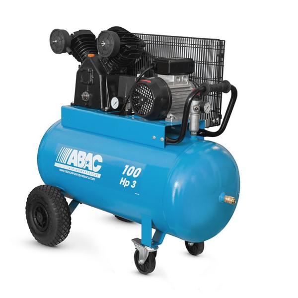 Compresseur d'air à piston 100L 3 Cv 9 Bar Série Line VCF ABAC