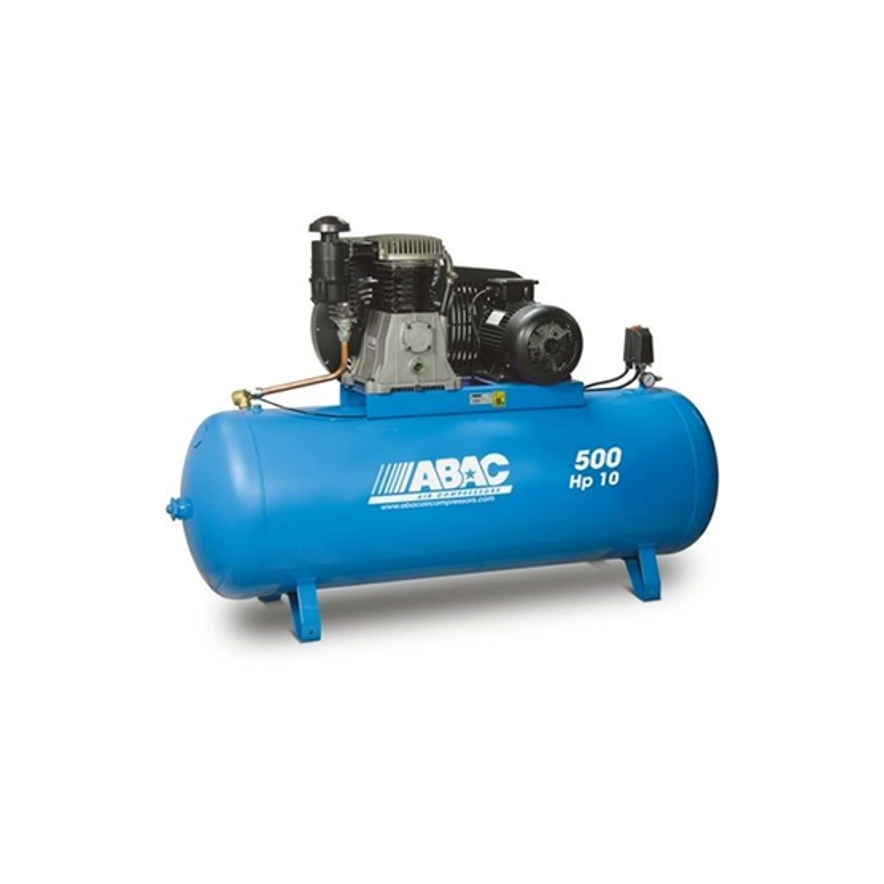 Compresseur d'air à piston 500L 10 Cv 15 Bar Série Line ABAC