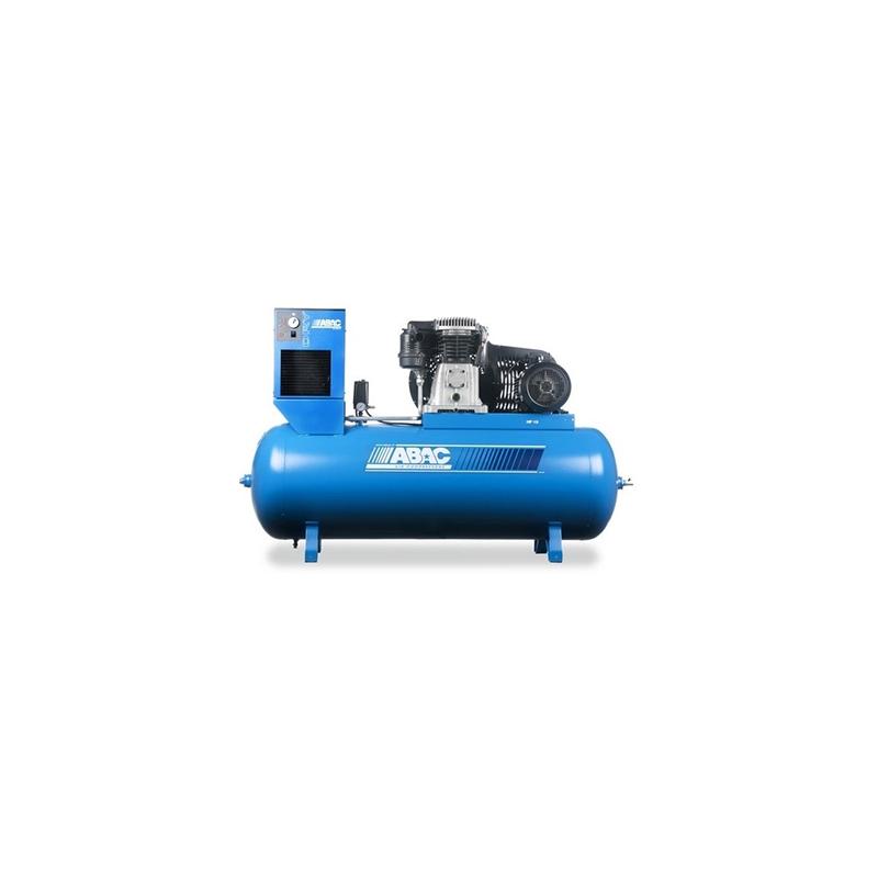 Compresseur d'air à piston avec sécheur 500L 10 Cv 11 Bar Série Line ABAC