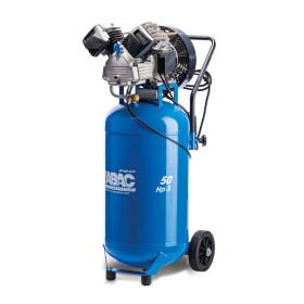 Compresseur d'air à piston mobile vertical 50L 3 Cv 10 Bar Gamme Pro ABAC