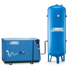 Compresseur d'air silencieux + réservoir 500L 7.5 Cv 10 Bar Gamme LN ABAC