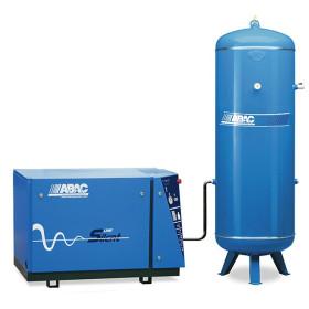 Compresseur d'air silencieux + réservoir 500L 10 Cv 10 Bar Gamme LN ABAC