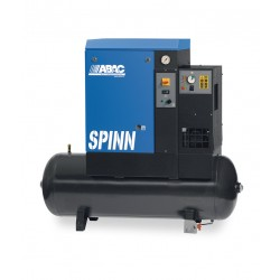Compresseur d'air rotatif à vis avec sécheur 270L 10 Cv 10 Bar Série SPINN ABAC