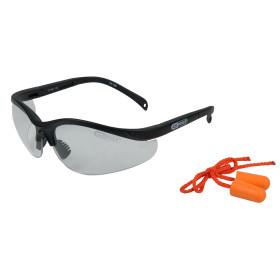 Lunettes de protection transparentes avec bouchons d'oreille KS Tools
