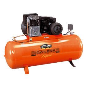 Compresseur d'air à piston 270L 5.5Cv 10 Bar 400V Tri Legend DevilBiss