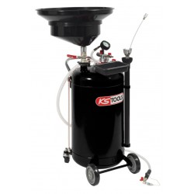 Récupérateur d'huile par gravité et aspiration 90 L KS TOOLS