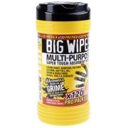 Tube de 120 lingettes Multi-Usage BIG WIPES BIW-MP120