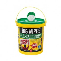 Seau XL de 150 lingettes Multi-surface BIG WIPES