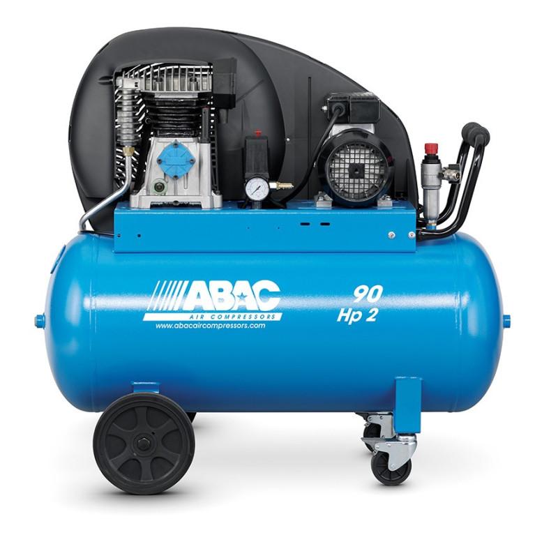 Compresseur d'air à piston 90L 2 Cv 10 bar Série PRO A29B ABAC