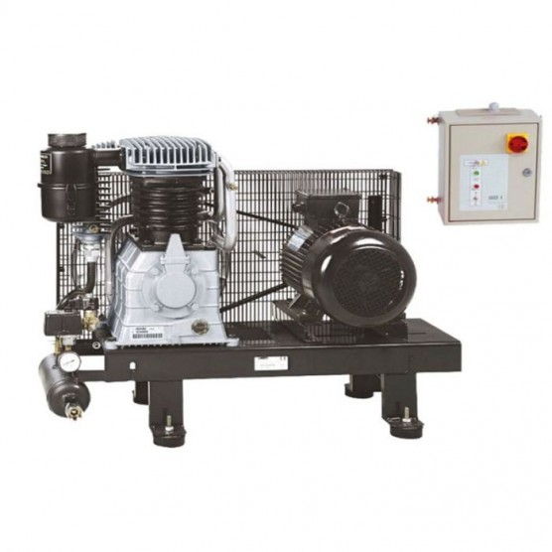 Compresseur d'air à piston marche lente 10 Cv - Plateau ABAC