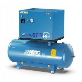 Compresseur d'air silencieux avec sécheur d'air 270L 5.5 Cv 11 Bar Gamme LN ABAC