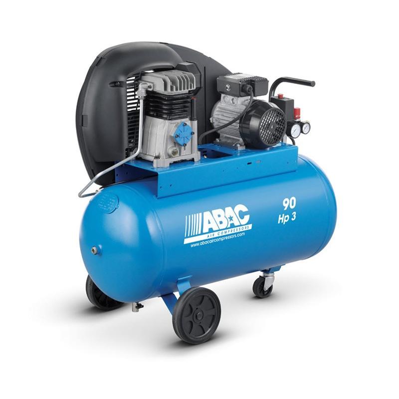 Compresseur d'air à piston 90L 3 Cv 10 bar A29B ABAC