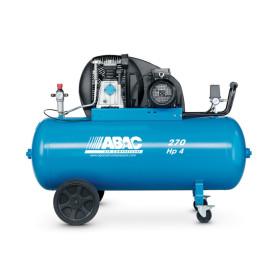 Compresseur d'air à piston 270L 4 Cv 10 bar 400c tri Série PRO A39B ABAC