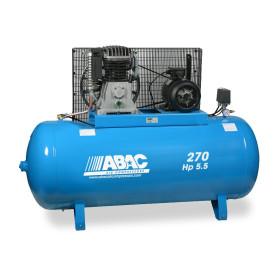 Compresseur d'air marche lente 270L 5,5 Cv 10 bar ABAC