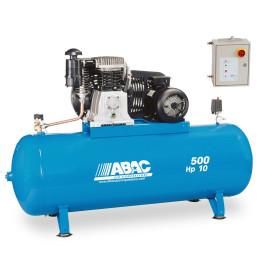 Compresseur d'air à piston 500L 10 Cv 15 bar ET ABAC