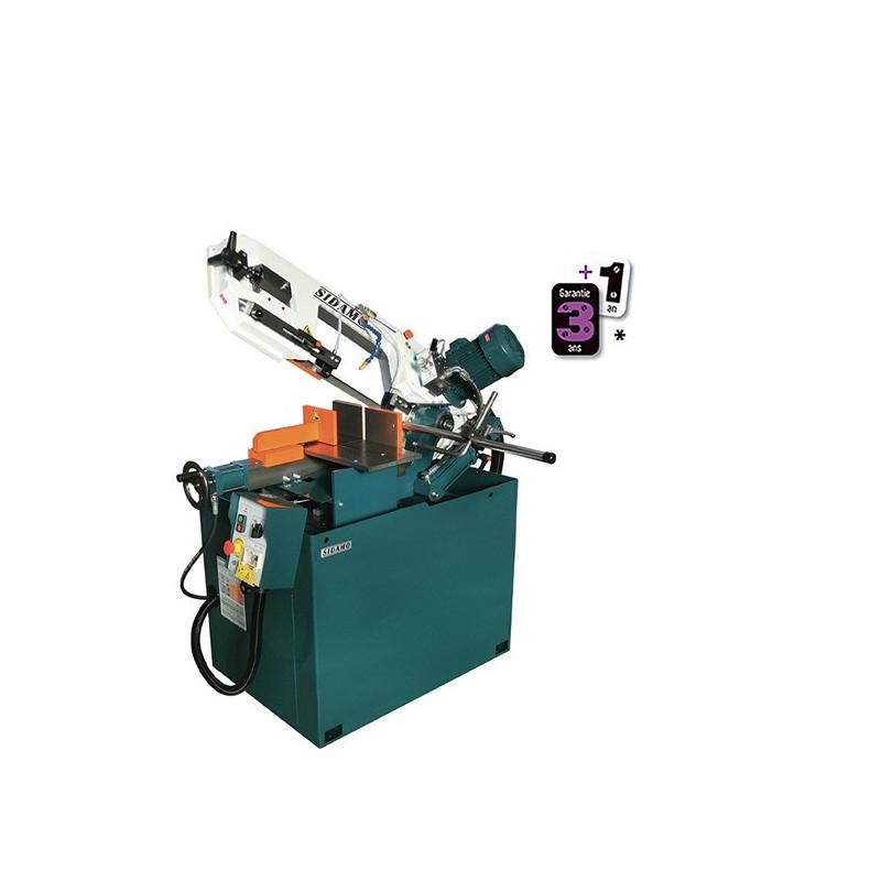 Scie a ruban semi-automatique sr 260 bsav + variateur sidamo