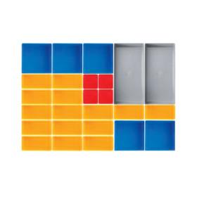 Boîtes de rangement 26 pièces KRAFTWERK