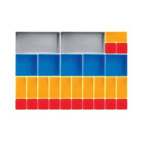 Boîtes de rangement 30 pièces KRAFTWERK
