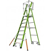 Plateforme Safety Cage 8 marches LITTLE GIANT