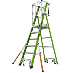 Plateforme Safety Cage 6 marches LITTLE GIANT