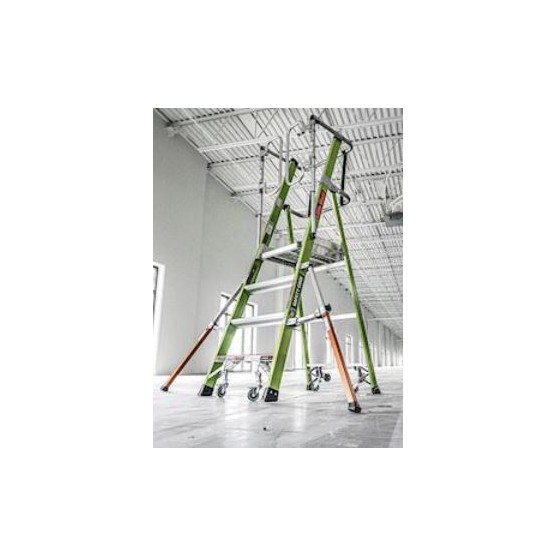 Plateforme Safety Cage 4 marches LITTLE GIANT