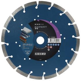 Disque Diamant à segment EXPERT TT 230 mm / Alésage 22.23 mm SIDAMO